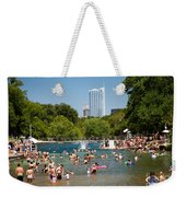 Barton Springs Pool Weekender Tote Bag