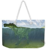 Baryonyx Swimming Amongst Some Weekender Tote Bag
