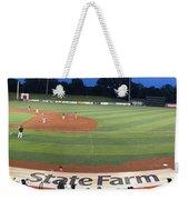 Baseball America's Past Time Weekender Tote Bag