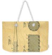 Baseball Bat Patent Weekender Tote Bag