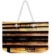 Baseball Bats Weekender Tote Bag