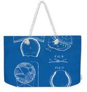 Baseball Construction Patent 2 - Blueprint Weekender Tote Bag