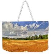 Baseball Field Weekender Tote Bag