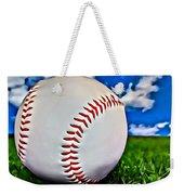 Baseball In The Grass Weekender Tote Bag