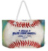 Baseball Iv Weekender Tote Bag by Lourry Legarde