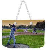 Baseball On Deck Circle Weekender Tote Bag