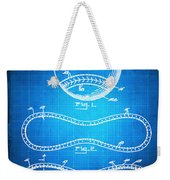 Baseball Patent Blueprint Drawing Weekender Tote Bag