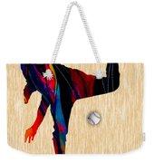 Baseball Pitcher Weekender Tote Bag