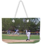 Baseball Pitcher The Delivery Weekender Tote Bag