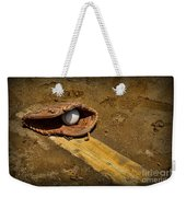 Baseball Pitchers Mound Weekender Tote Bag by Paul Ward