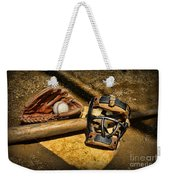 Baseball Play Ball Weekender Tote Bag by Paul Ward
