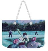 New York Central Park Baseball - Watercolor Art Weekender Tote Bag