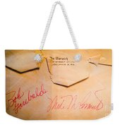 Baseball Treasures Weekender Tote Bag