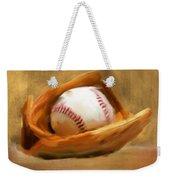 Baseball V Weekender Tote Bag