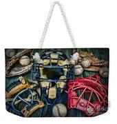 Baseball Vintage Gear Weekender Tote Bag