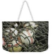 Baseballs And Net Weekender Tote Bag