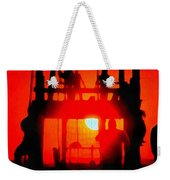 Basic Training Obstacle Course At Sunset Weekender Tote Bag