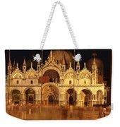 Basilica Di San Marco Weekender Tote Bag by George Buxbaum