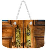 Basilica Door Knobs Weekender Tote Bag