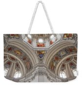 Basilica Of St. Peter In Salzburg Weekender Tote Bag
