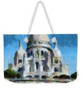 Basilica Sacred Heart- Paris Weekender Tote Bag