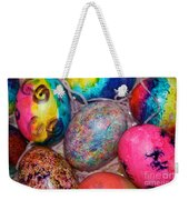 Basket Case Weekender Tote Bag