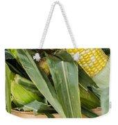 Basket Farmers Market Corn Weekender Tote Bag