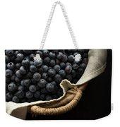 Basket Full Fresh Picked Blueberries Weekender Tote Bag