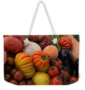 Basket Of Fruits And Vegetables Weekender Tote Bag