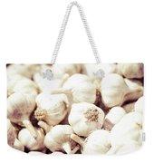 Basket Of Garlic Weekender Tote Bag