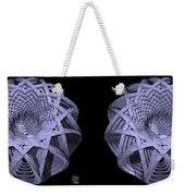 Basket Of Hyperbolae - Stereogram Weekender Tote Bag