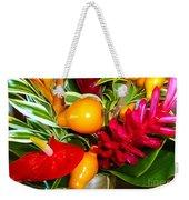 Basket Of Tropic Weekender Tote Bag