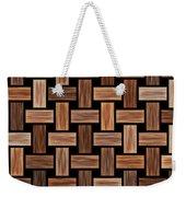Basket Weaving Weekender Tote Bag