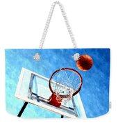 Basketball Hoop And Ball 1 Weekender Tote Bag