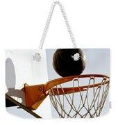 Basketball Hoop And Ball Weekender Tote Bag