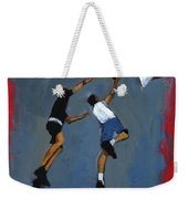 Basketball Players Weekender Tote Bag