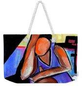 Basketball Practice Weekender Tote Bag by JAXINE Cummins