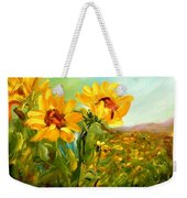 Basking In The Sun Weekender Tote Bag by Barbara Pirkle