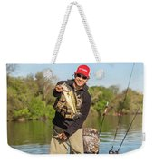 Bass Caught In Austin Texas Weekender Tote Bag