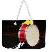 Bass Drum At Parade Weekender Tote Bag
