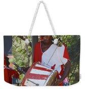 Bass Drummer Labadee Haiti Weekender Tote Bag