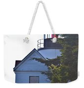 Bass Harbor Headlight Weekender Tote Bag