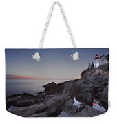 Bass Head Lighthouse Weekender Tote Bag