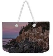 Bass Head Lighthouse Sunrise Weekender Tote Bag