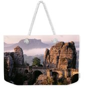 Bastei, Saxonian Switzerland National Weekender Tote Bag