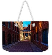 Bates Mill Lewiston Maine Weekender Tote Bag by Bob Orsillo