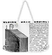 Bath Cabinet, 1897 Weekender Tote Bag