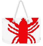 Bath Maine Lobster With Feelers Weekender Tote Bag