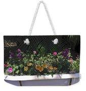 Bath Tub Flowers Weekender Tote Bag