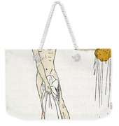 Bathing Weekender Tote Bag